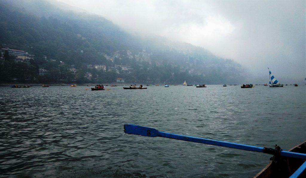 Boating Nainital