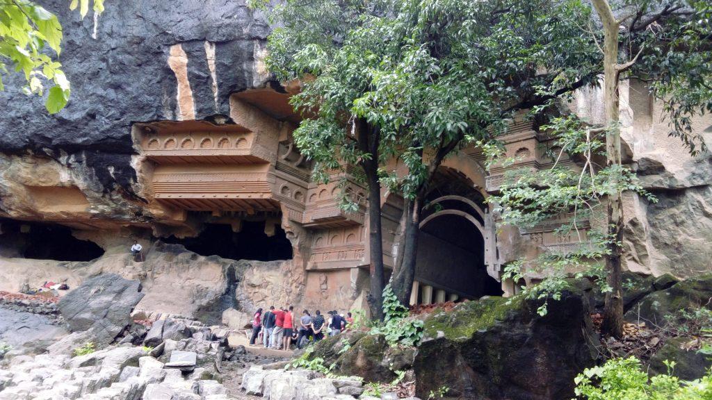 The Beautiful architecture of Kondana caves