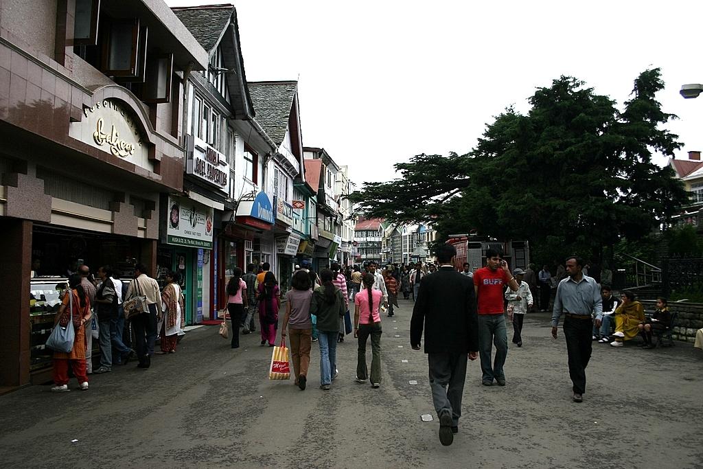Kasauli Mall Road