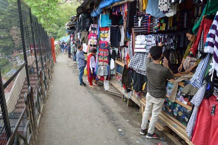 Tibetan Market Kasauli