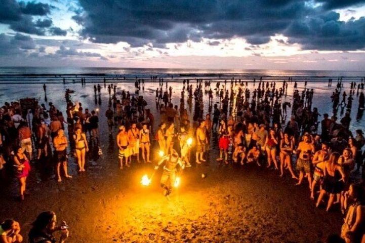 Beach Party in Manori