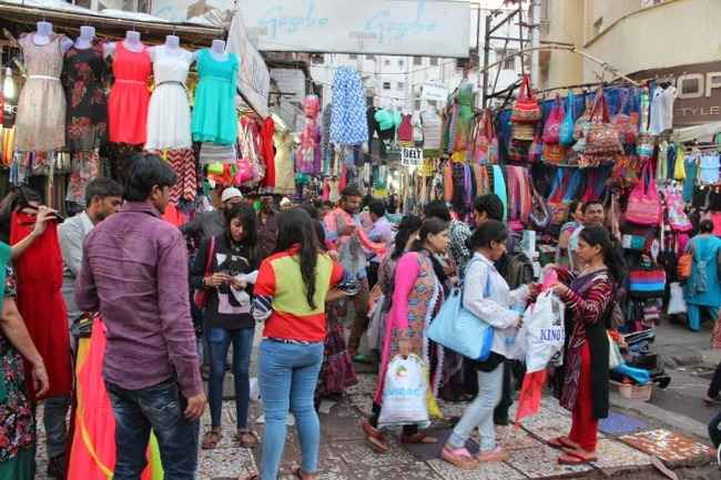 Shopping in Dadra